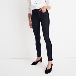"MADEWELL • 9"" high rise skinny jeans"